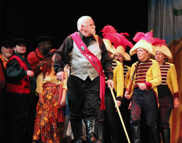 Supernumeraries appear in the New Jersey Association of Verismo Opera's production.