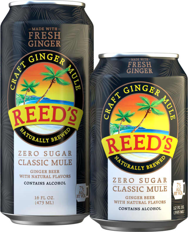 Norwalk-based Reed's brings together two of the fastest-growing beverage trends: ginger and cocktail-in-a-can.