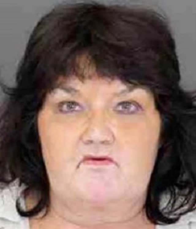 Regina Suarez, 56, is being sought by Ramapo police in a petit larceny case, they said.