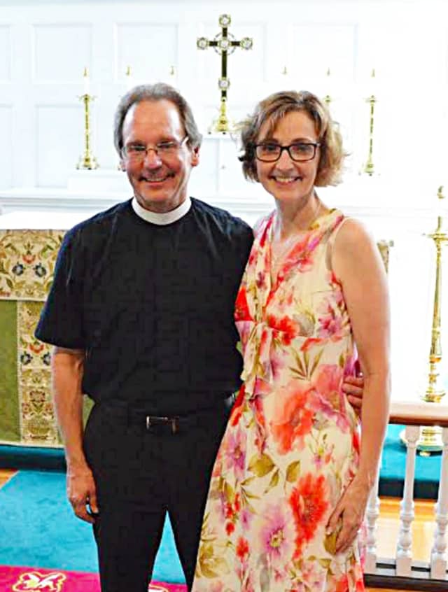 Rev. Dr. Derrick Fallon and his wife Pam are joining St. Michael's Lutheran Church, in New Canaan.