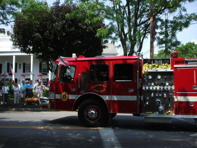 Rhinebeck firefighters battled an electrical fire at the local Stop & Shop on Monday.