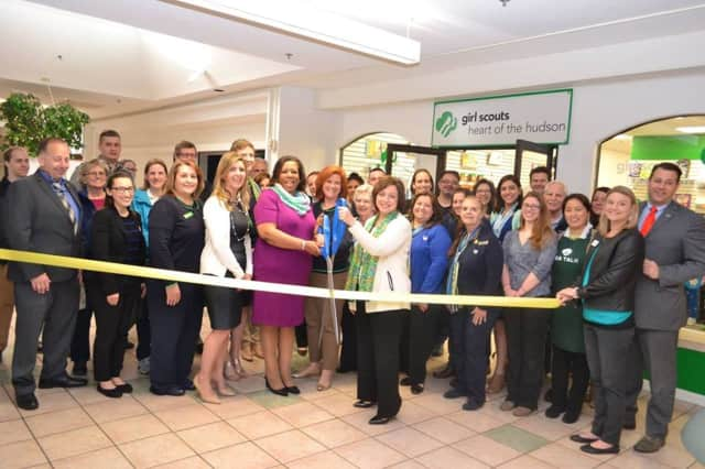 Girl Scouts Heart of the Hudson held a ribbon cutting for its new Poughkeepsie store.