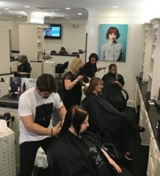 Ricci's Salon & Spa of Newtown is having a Cut-a-Thon May 15 to benefit Army Ranger Sean Pesce.