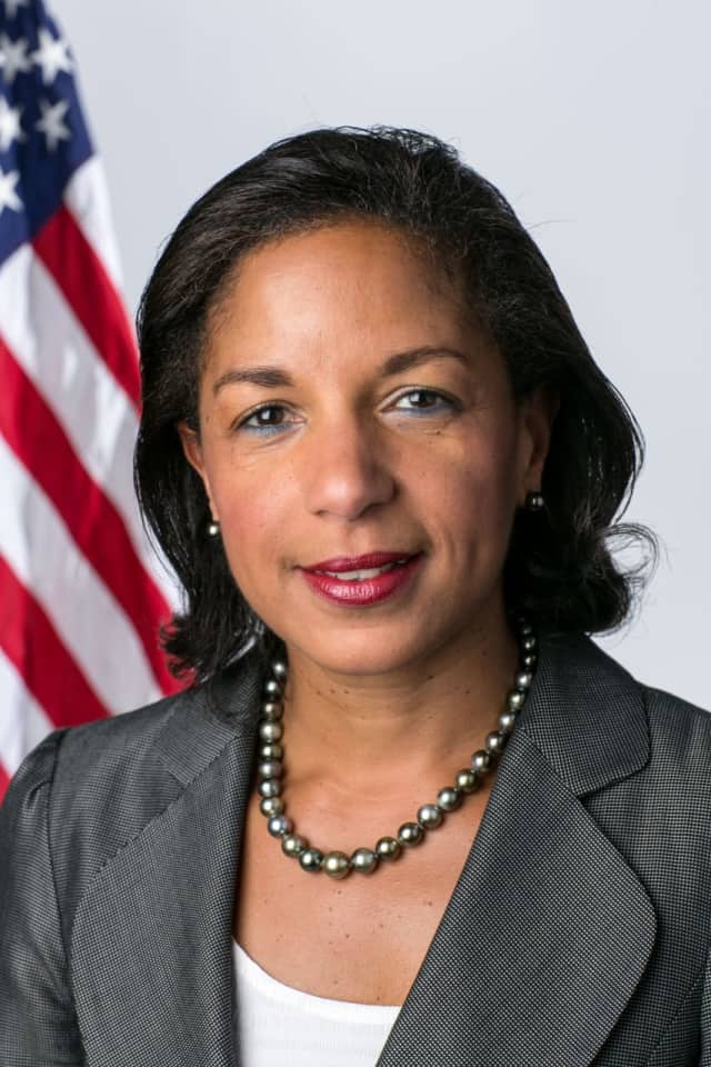 Former National Security Adviser Susan Rice will speak at Fairfield University later this month.
