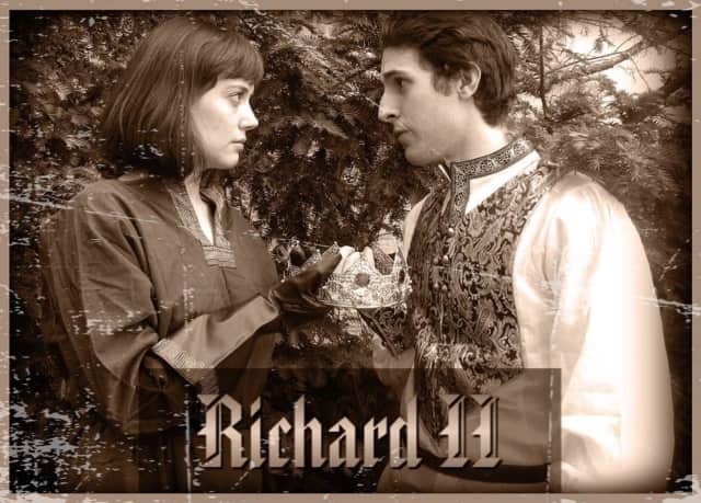"""The Hudson Shakespeare Company is bringing """"Richard II"""" to Mahwah this month."""
