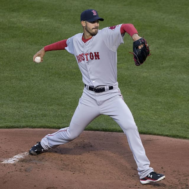 Chester's Rick Porcello of the Boston Red Sox is looking like a free agent.
