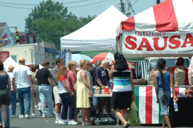 Italian sausage sandwiches are one of the loved food specialties that will be offered at the Ridgefield Park street fair Saturday, Sept. 19 on Main St.