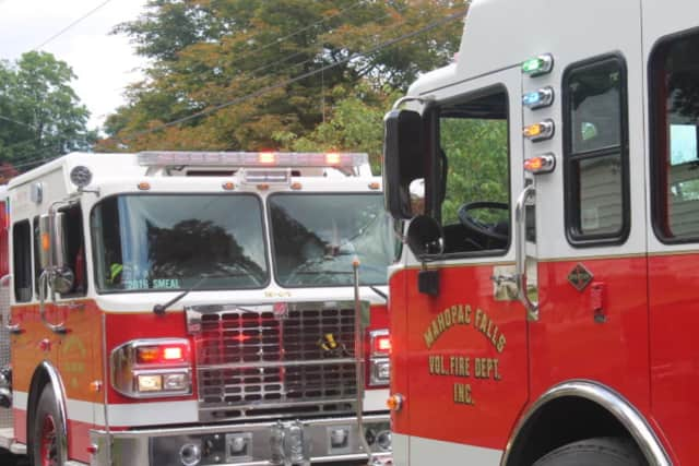Mahopac EMS, fire and fire police responded to a three-vehicle crash.