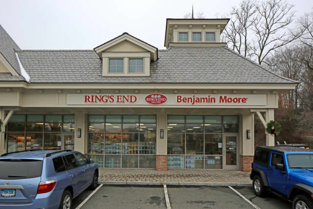 The new Ring's End location on White Plains Road in Trumbull.