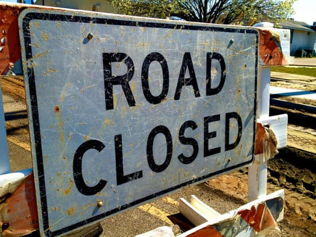 Route 52 between Fishkill Hook Road and Corporate Park Drive will be closed on Friday for construction.
