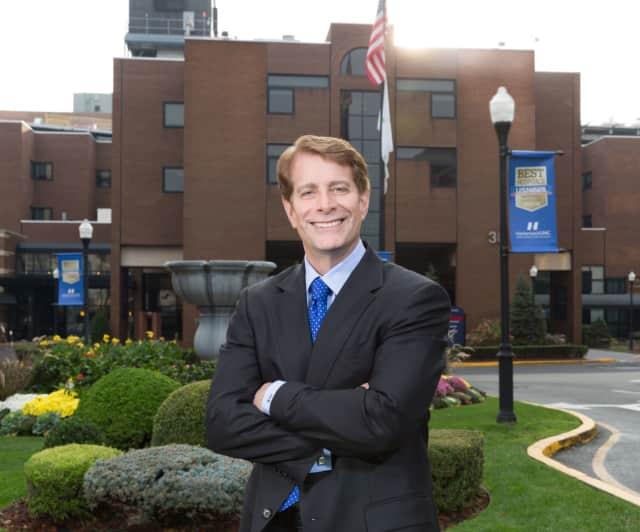 Hackensack University Medical Center President Robert Garrett.