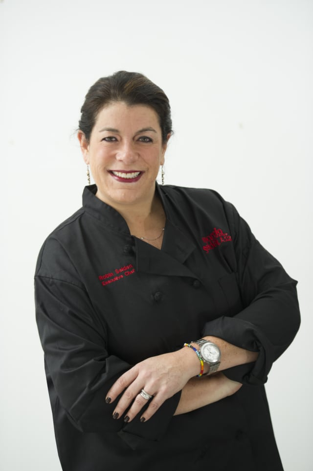 Chef Robin Selden of Stamford-based Marcia Selden Catering & Event Planning.