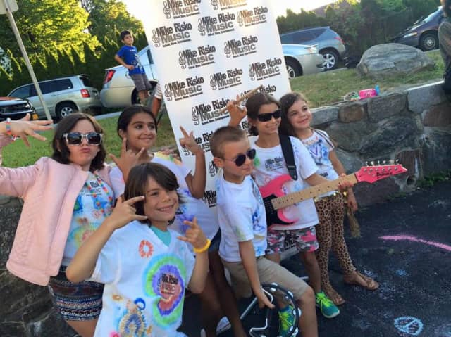 Kids rock out at Mike Risko Music School's Rock Band Camp.