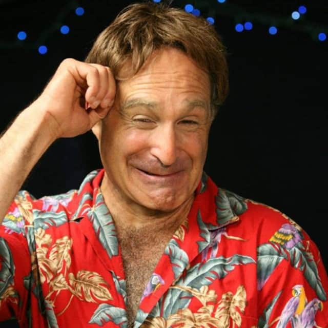 Roger Kabler brings tribute show modeling the creative antics of comedian Robin Williams to The Ridgefield Playhouse.