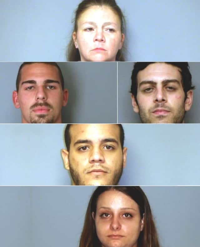 TOP: Jennifer Rohlfs, 2ND ROW: Connor Williams, 3RD ROW: Gregory Latino, BOTTOM: Omar Younes,