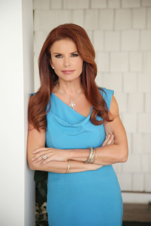 Roma Downey. Photograph by Austin Hargrave.
