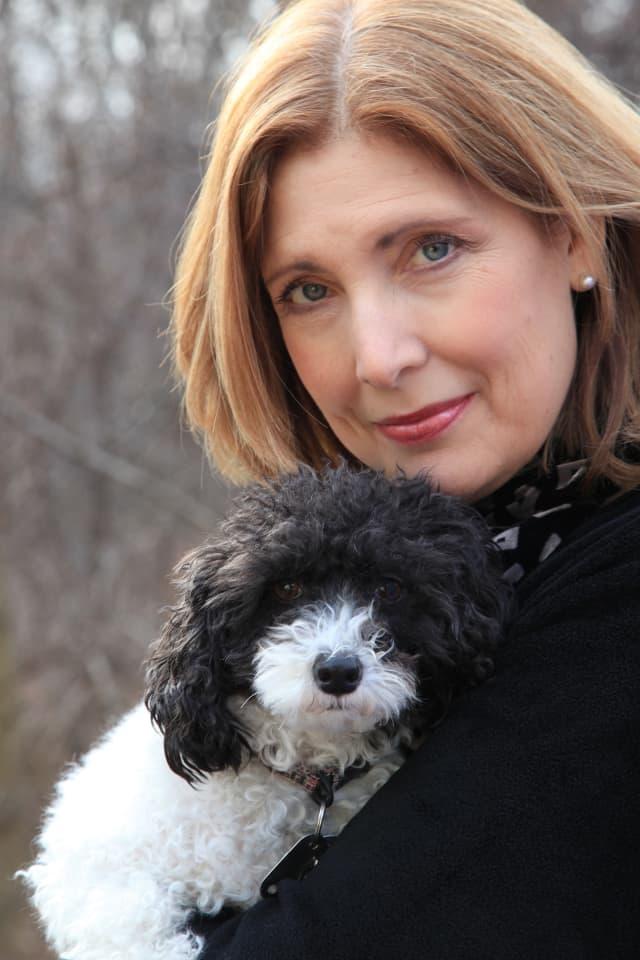 Maggie Mae with Ronni Diamondstein.
