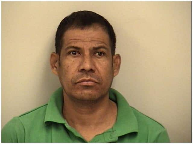Rony Rodriguez, 43, was arrested by Westport police on multpile charges.