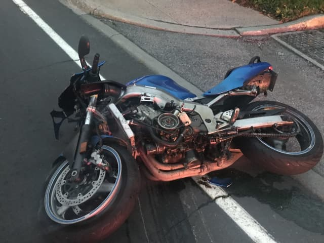 A 25-year-old Hudson Valley man was killed in a motorcycle crash on Route 55.