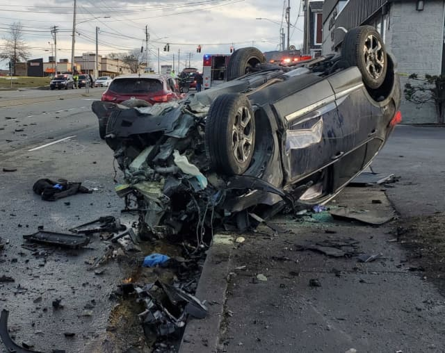 A 1-year-old boy and a woman were killed during a two-vehicle crash in Wappingers Falls.
