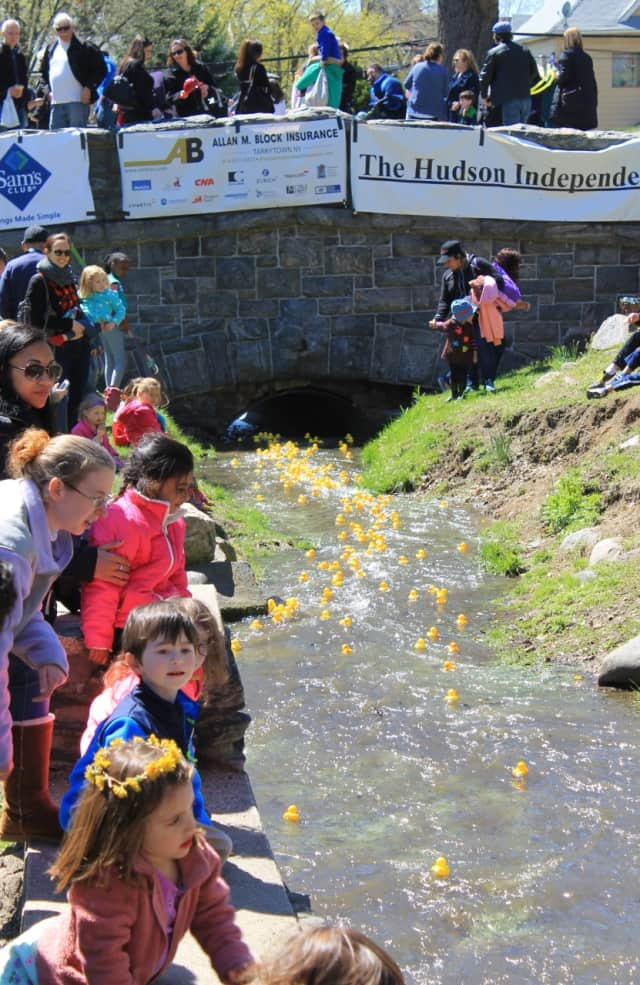 The Eighth Annual Rubber Duck Derby will be held on Saturday at Patriot's Park in Tarrytown, from 11 a.m. - 3 p.m.
