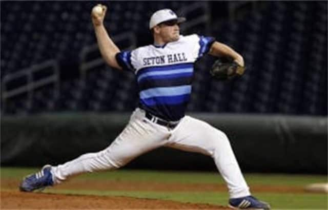 Texas Ranger minor league pitcher Ryan Harvey graduated from Manalapan High School and Seton Hall University. He will coach at a Northern Valley sports camp in January.
