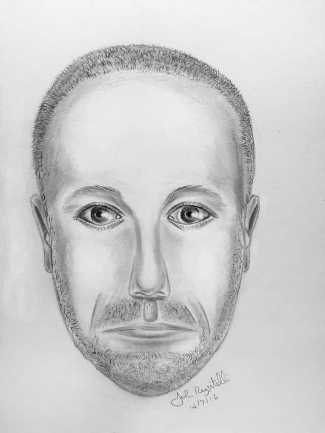 Rye Police released this composite sketch on Thursday of a suspect who allegedly exposed himself to minor children near a school earlier this week.