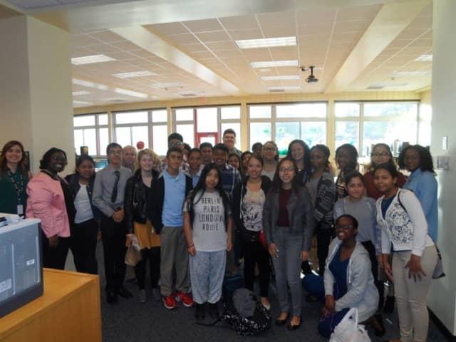 Peekskill students recently visited the UN