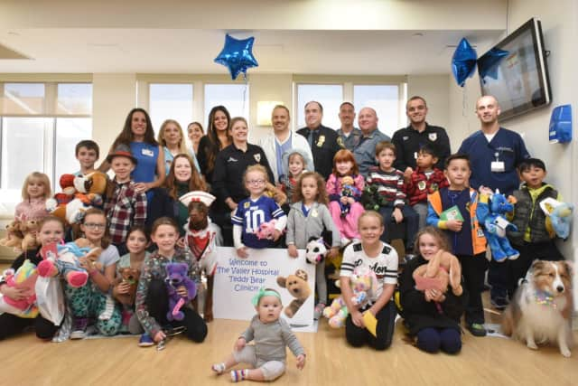 Over 250 children attended last year's Teddy Bear Clinic at The Valley Hospital, which was hosted by Valley doctors, nurses, staff and volunteers.