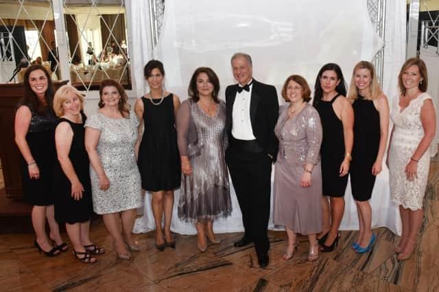 Left to right: Nicole Serhat, Patrice Duker, Suzanne Bryjak, Carla Marzano-Lindemulder, Dr.Carmela Pané, Dr. Frank Manginello, Dr. Beth Benjamin, Lisa Parker, Lisa Cavallario, and Joanna O'Toole.