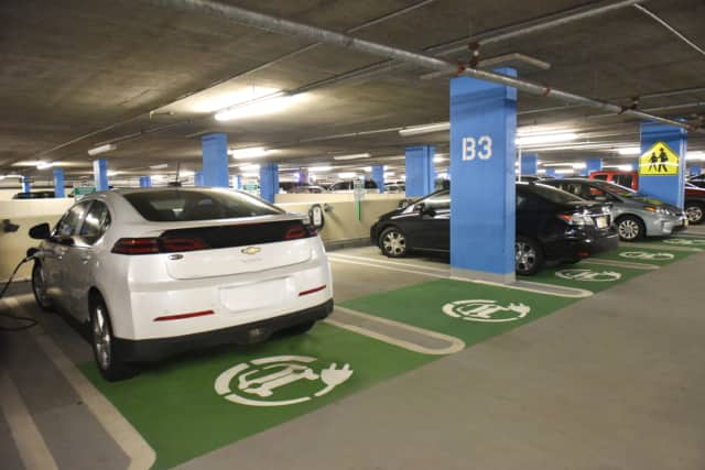 The Valley Hospital's new charging stations have received recognition from the White House.