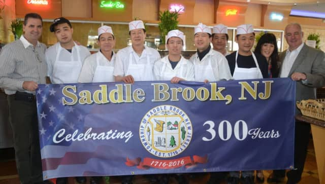 Saddle Brook's tricentennial committee is hosting a pizza party June 10.