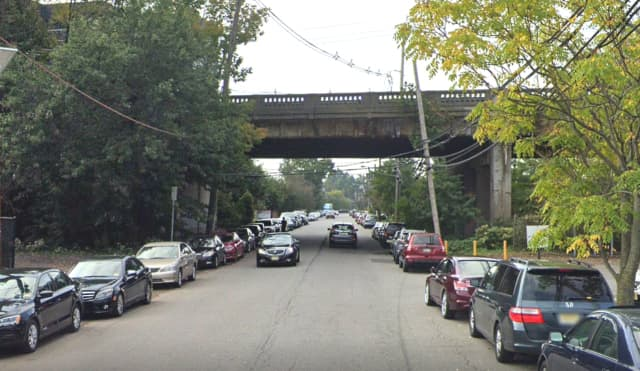 Route 4 bridge over South Dean Street in Englewood