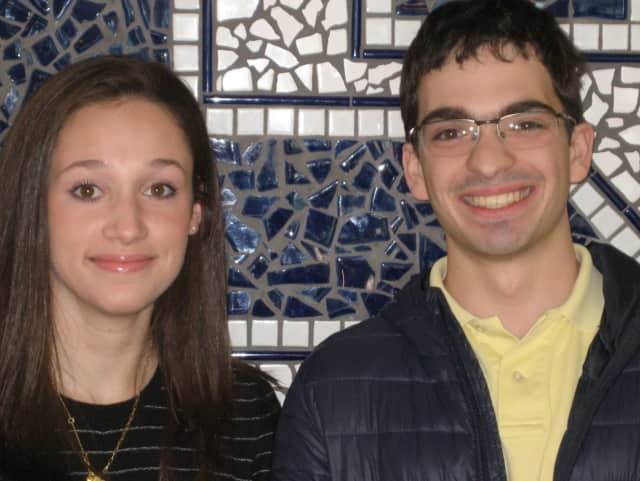 Emily Schussheim is valedictorian of the Class of 2017 at Staples High School, and Christopher Scherban is the salutatorian.