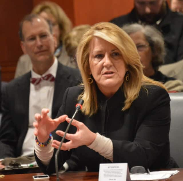 State Rep. Brenda Kupchick (R-Fairfield) was among those who testified in support of privatizing the DMV.