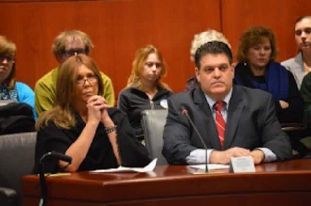 Trumbull State Rep. David Rutigliano. Legislation to help address the state's growing opioid crisis passed overwhelmingly in the House of Representatives Monday, according to State Reps. Rutigliano, Devlin and McGorty.