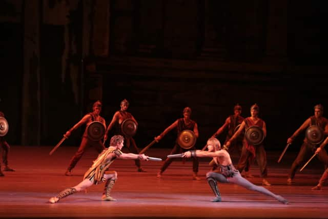"The Ridgefield Playhouse will screen the Bolshoi Ballet's performance of ""Spartacus"" on Sunday, March 13."
