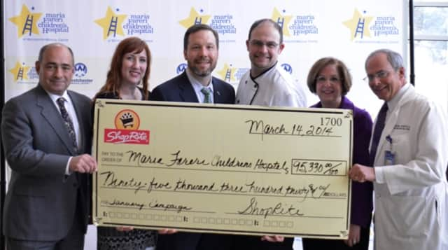 ShopRite Stores across the area will take hold fundraisers and events now through Nov. 22 to raise funds for the Maria Fareri Children's Hospital.