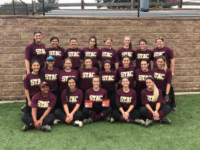 The St.Thomas Aquinas College softball team
