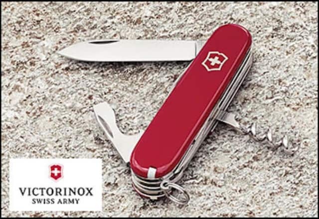Do you like the classic style of the authentic Swiss Army knife? You can pick one up at a discount at the Monroe warehouse sale for Victorinox Swiss Army.
