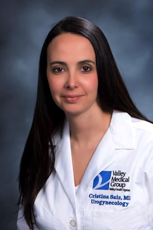 Dr. Cristina Saiz.