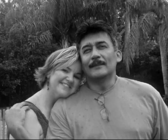Saloman Soria and wife, Stephanie