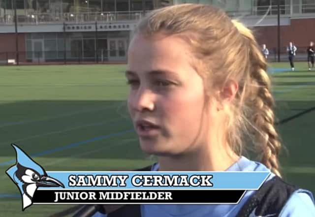 Sammy Cermack was recently selected by the Philadelphia Force in the pro lacrosse draft.