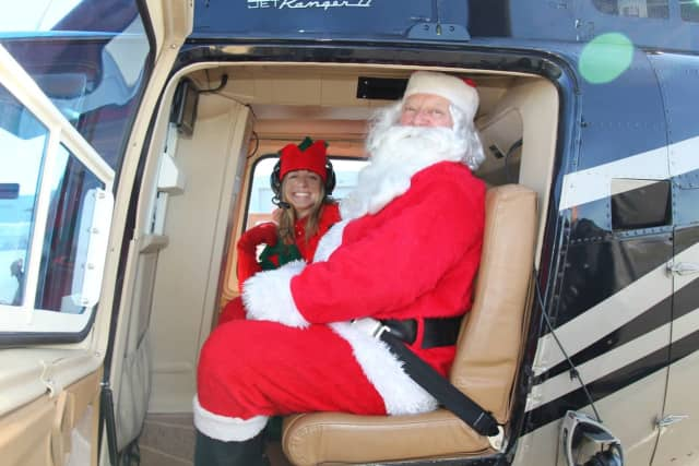 Image result for teterboro airport santa