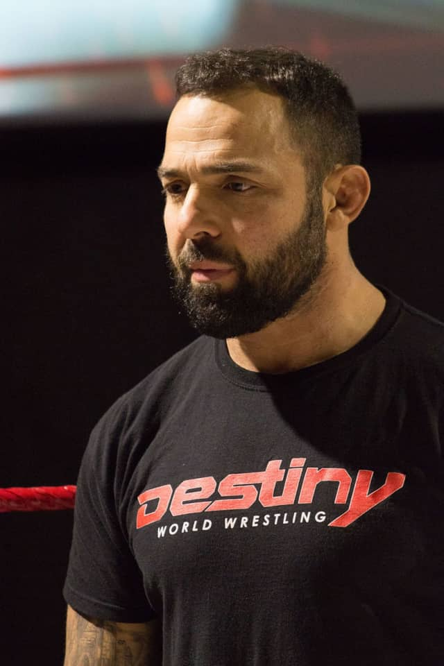 Santino Marella and other wrestlers will be in Cresskill in October.