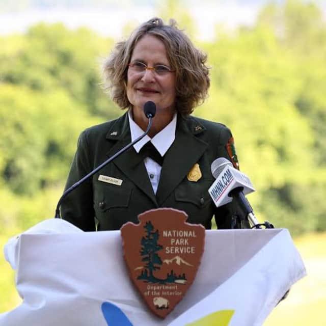 Superintendent Sarah Olson retired from Roosevelt-Vanderbilt-Van Buren National Historic Sites.
