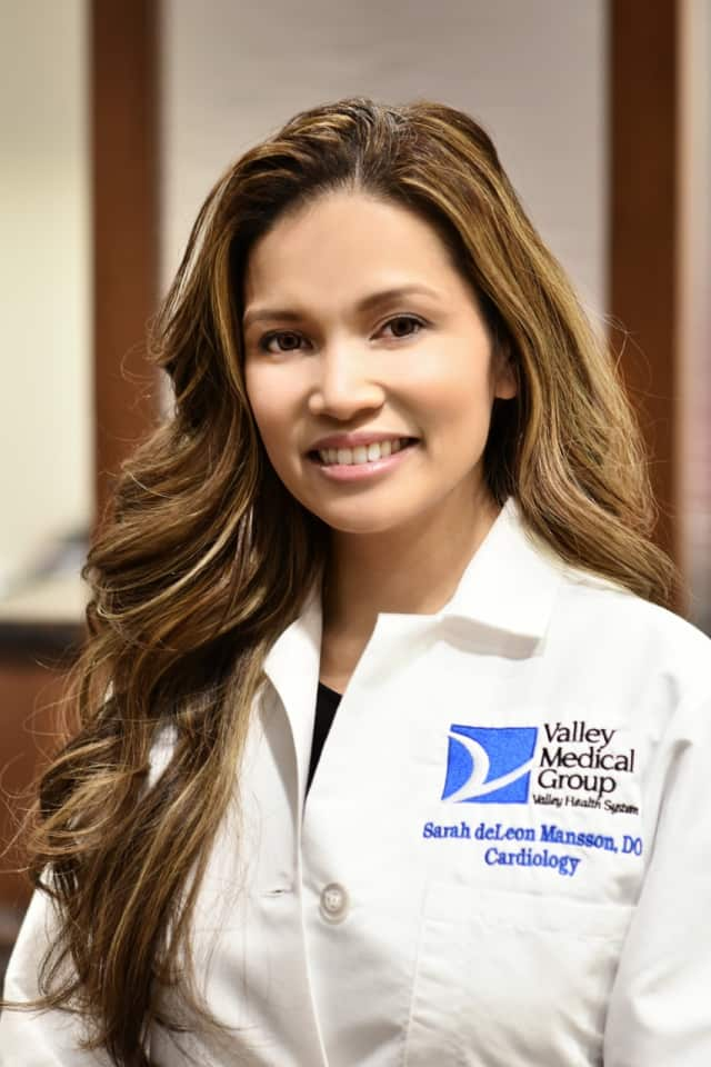 Dr. Sarah DeLeon Mansson, of Valley Medical Center.