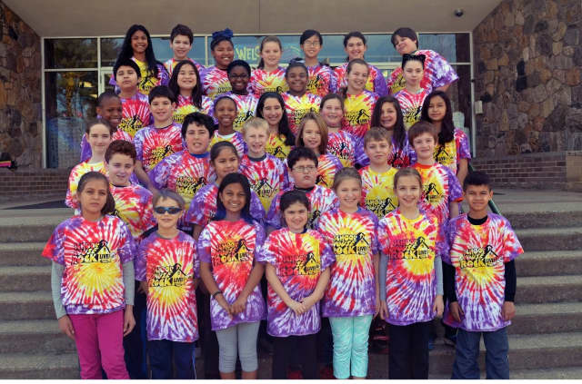 """The Northeast Elementary School fifth-grade cast of """"School House Rock Live! Jr."""" who will take the stage May 13-14."""