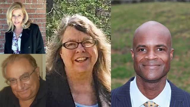 The four candidates for Wappingers School Board.