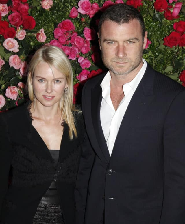 Actors Liev Schreiber, a Dutchess County resident, and Naomi Watts have announced they are splitting up after 11 years together. The couple, who have two young sons, say they intend to continue to raise them together.